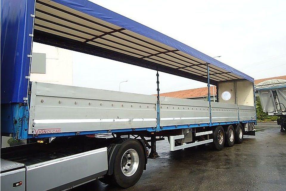 Camion alza abbassa per trasporti speciali